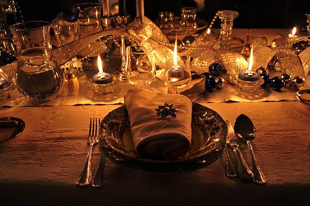 Detail of an idyllic meal stock photo