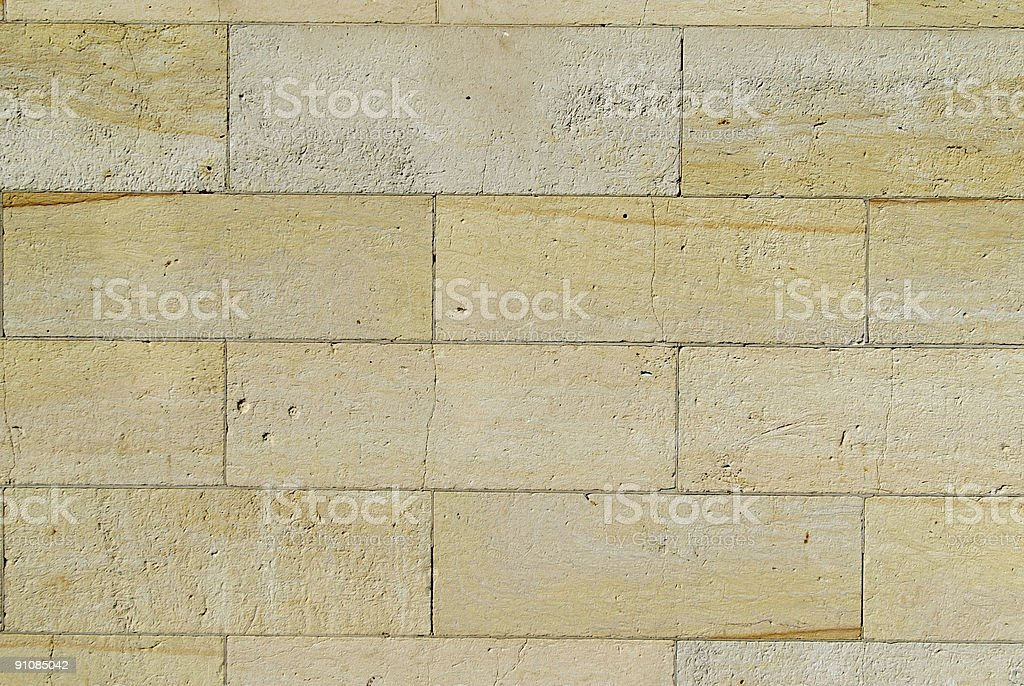 detail of an old Brick wall royalty-free stock photo