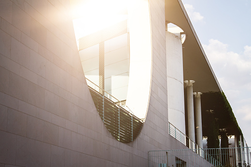 Detail of Berlin Bundestag