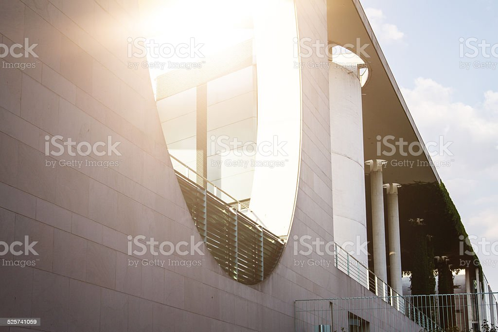 Detail of Berlin Bundestag stock photo