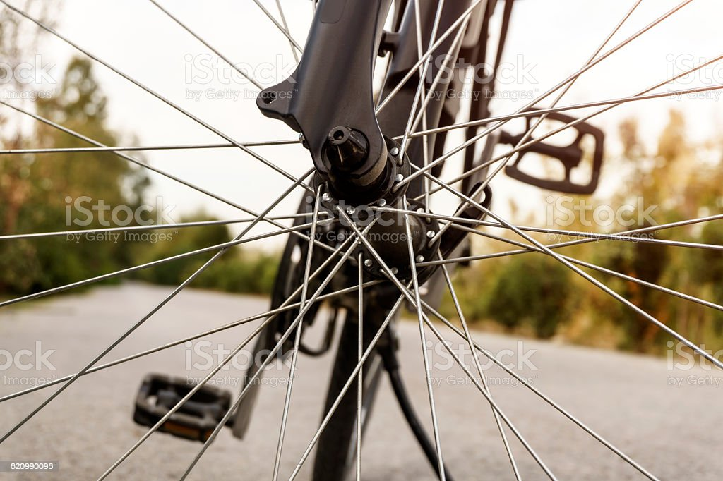 Detail Of Bicycle foto royalty-free