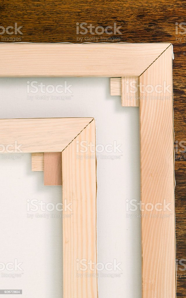 Detail of Blind frame royalty-free stock photo