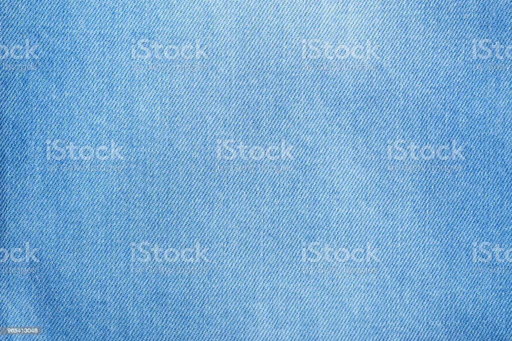 Detail of  blue jeans royalty-free stock photo