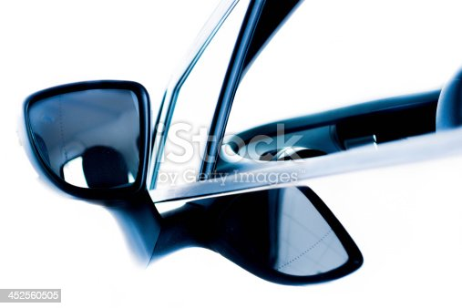 istock Detail of car mirror 452560505