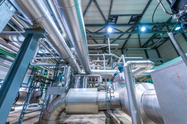 Detail der Chemiefabrik – Foto