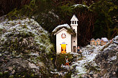 Outdoors Christmas crib in Campodalbero, Crespadoro (VI) - Italy