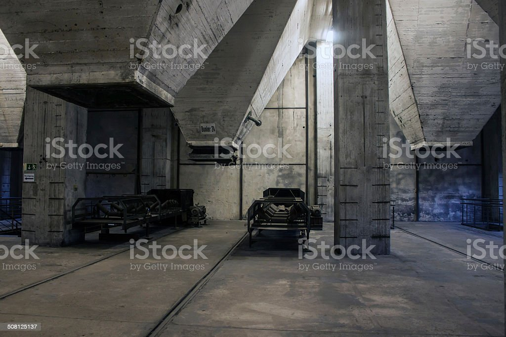 Detail of Coking plant stock photo