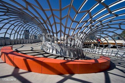 istock Detail of corner in Webb Bridge, Melbourne, Australia 172322870