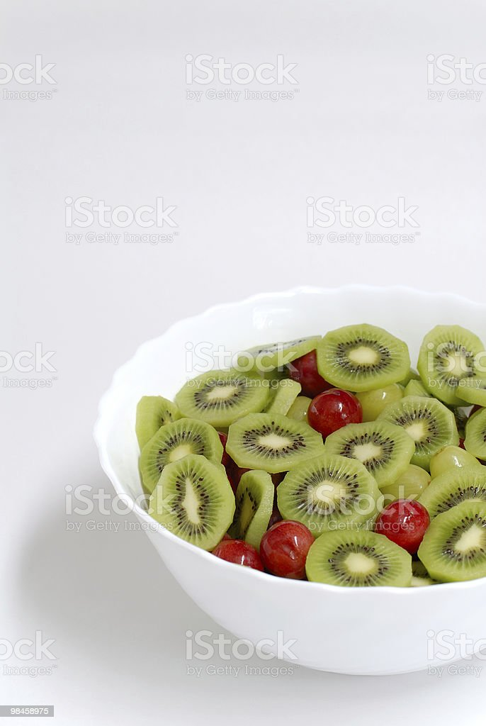 Detail of fruit salad royalty-free stock photo