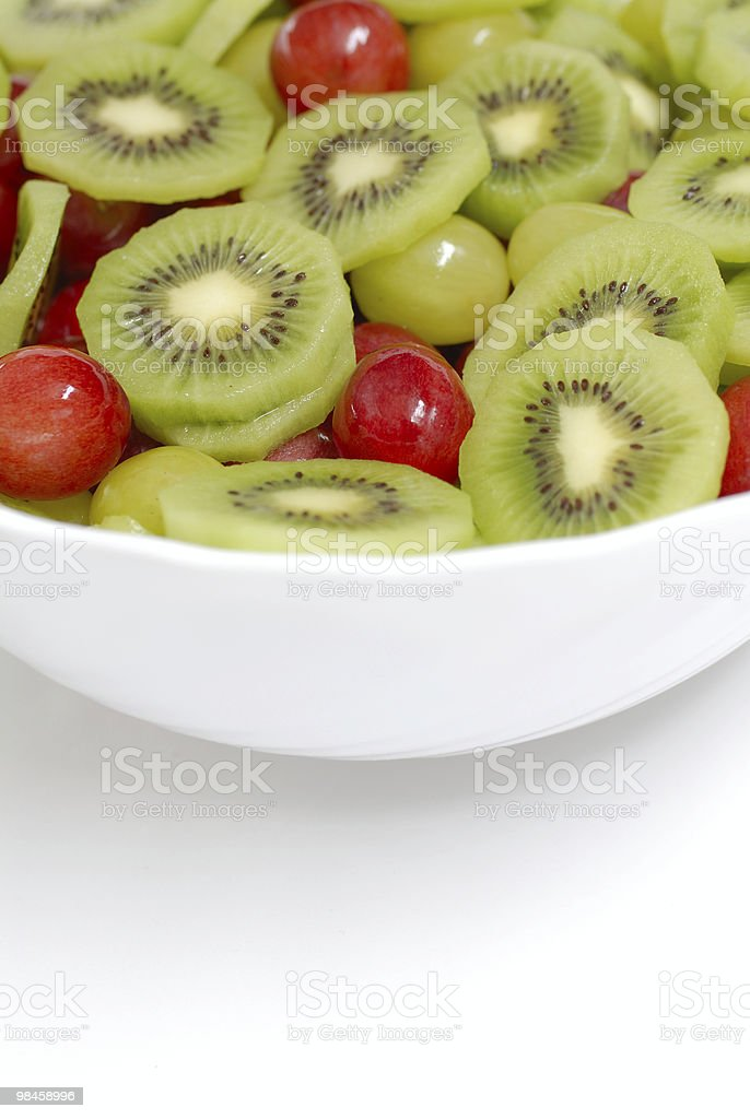 Detail of fruit salad royalty-free stock photo