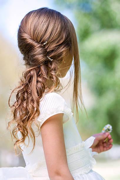 Frisuren für kommunionkinder