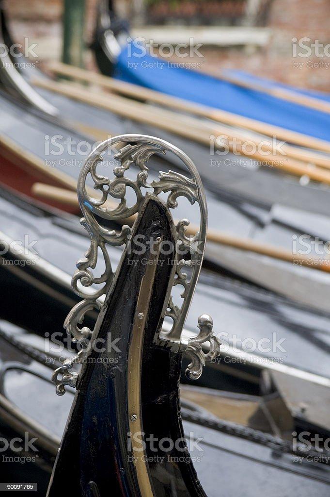 Detail of Gondola royalty-free stock photo