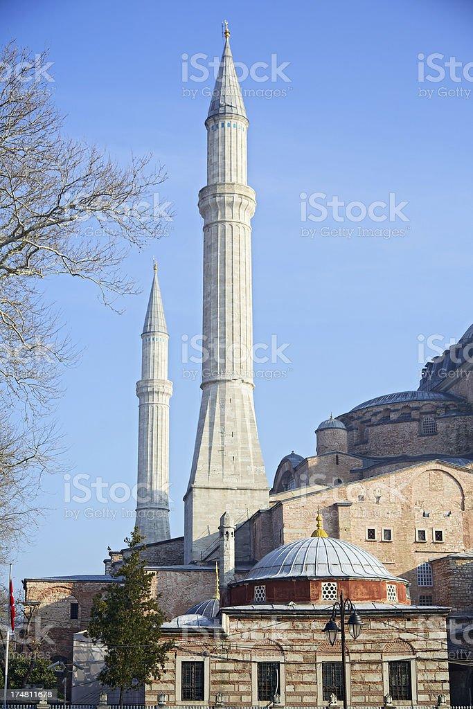 Detail of Hagia Sophia. Istanbul. Turkey. royalty-free stock photo