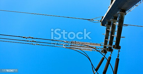 High-voltage electrical equipment.