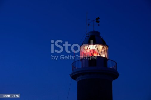 615497916 istock photo Detail of Lighthouse Lantern 183812170