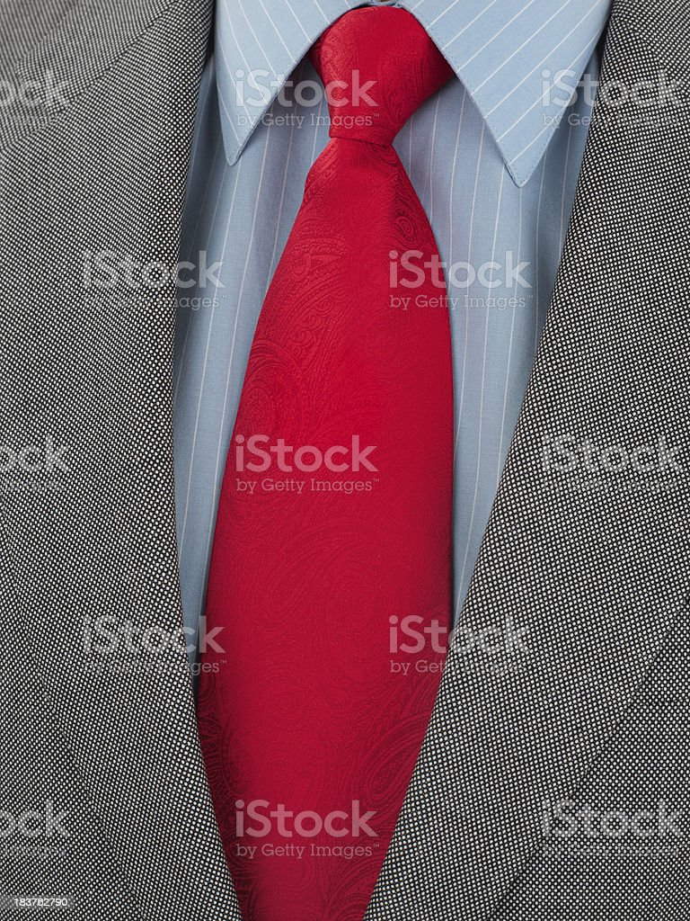 Detail of mens classic business wardrobe royalty-free stock photo