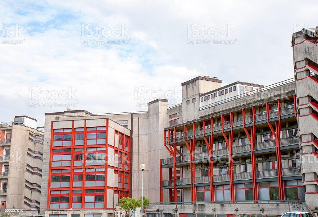 Détail de l'hôpital moderne - Photo