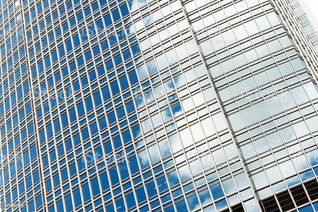 detail of modern office building royalty-free stock photo