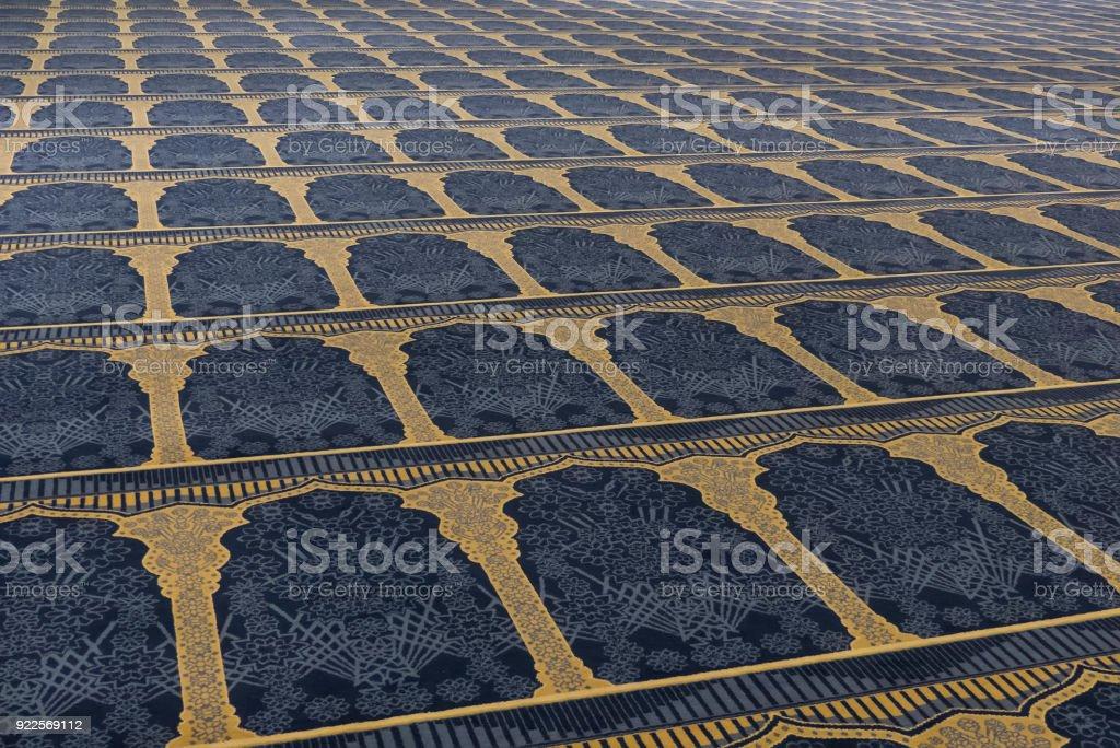 Detail der Moschee - Teppich – Foto