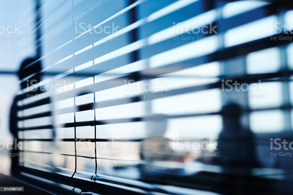 Detail of office interior stock photo