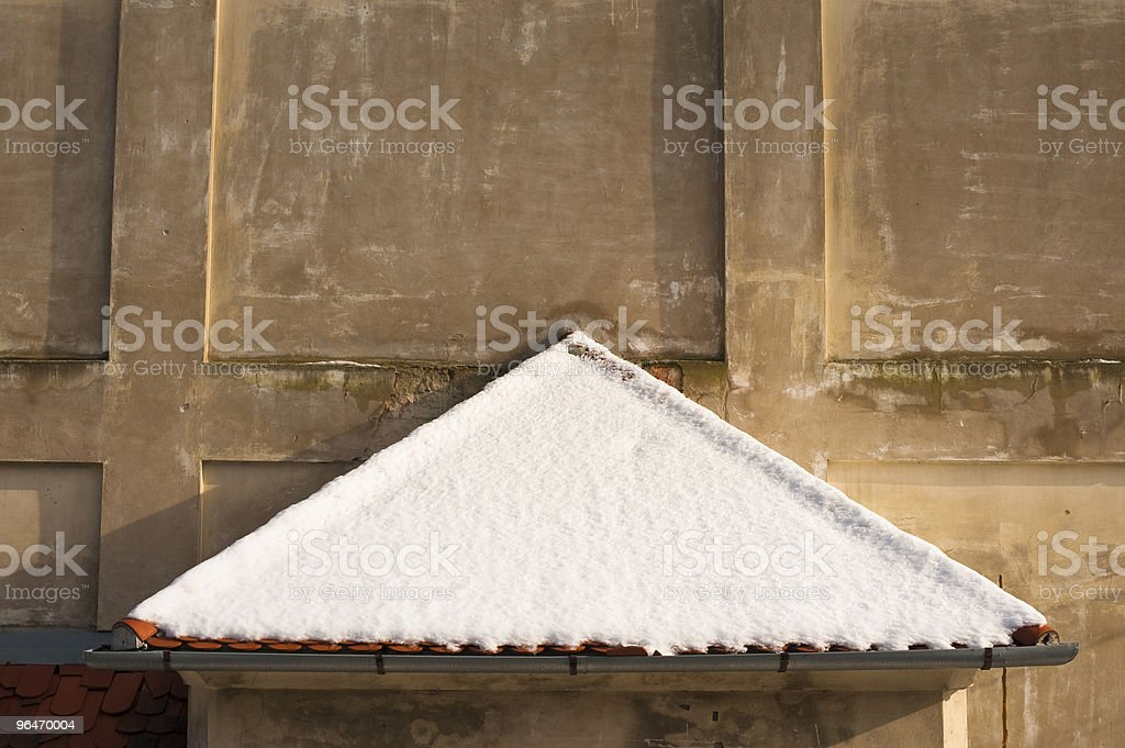 detail of old building royalty-free stock photo