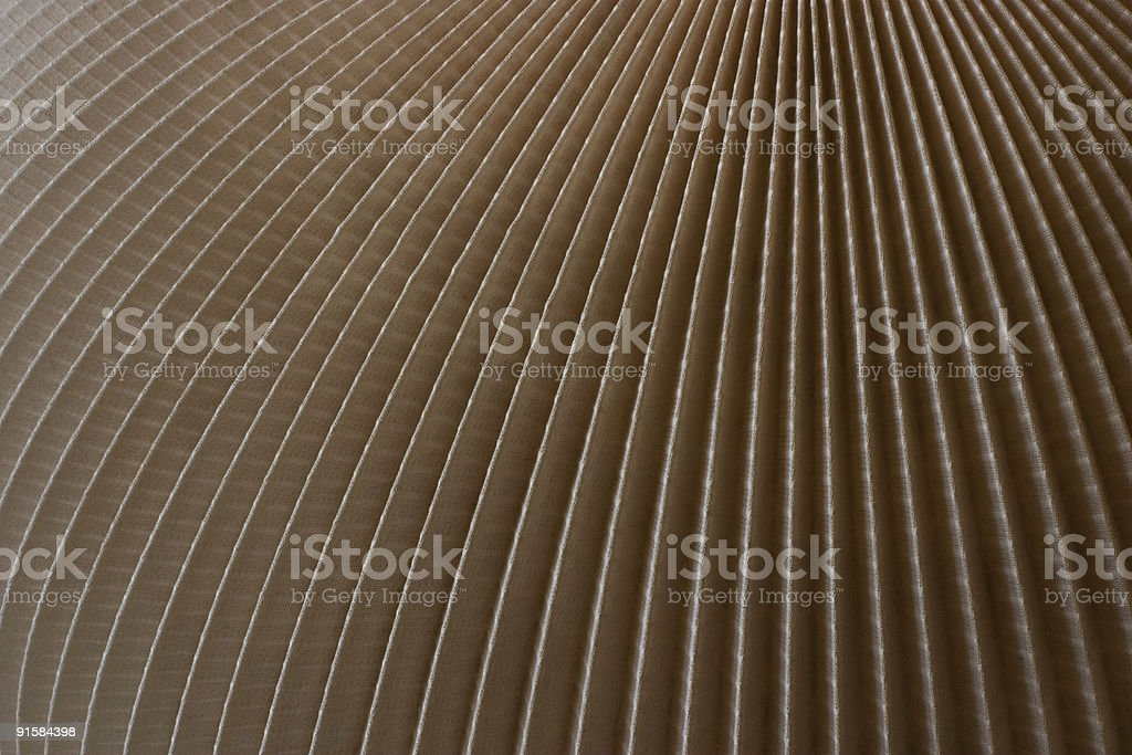 Detail of old lampshade in close up. Abstract backround royalty-free stock photo