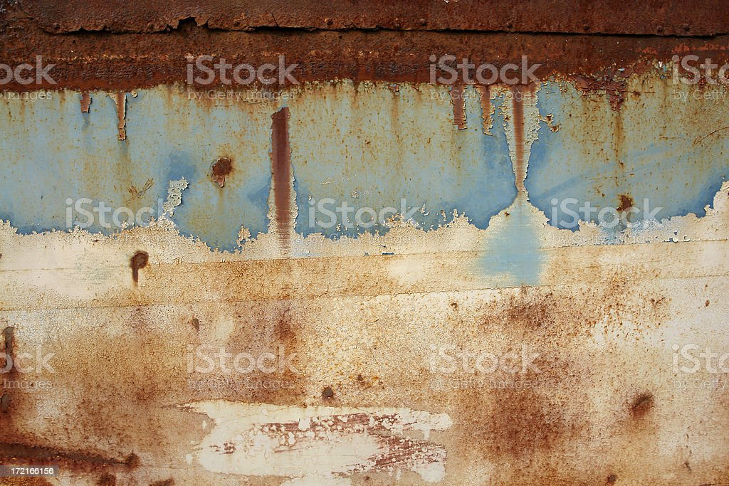 Detail of Old Rusty Bus 1 royalty-free stock photo