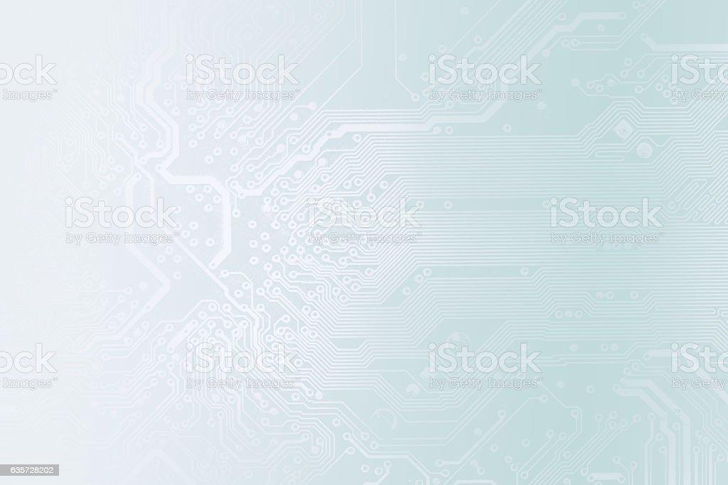 Detail der printed circuit board – Foto