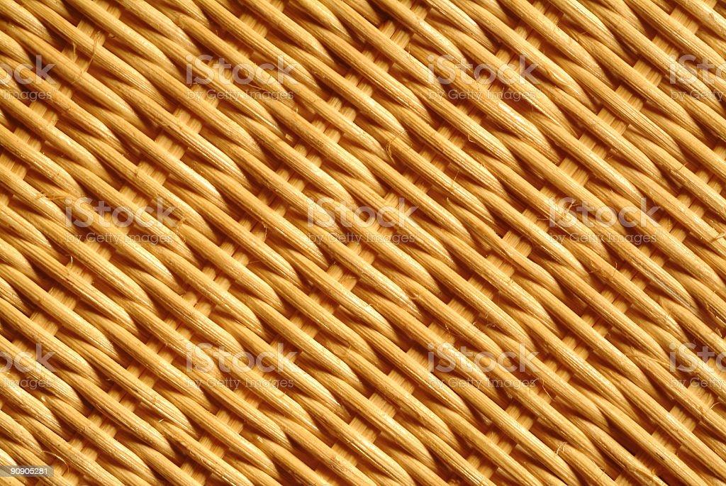 detail of rattan royalty-free stock photo