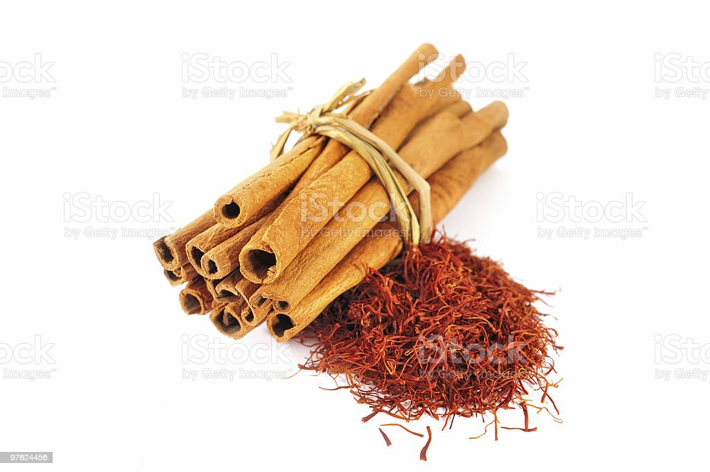 Detail of Spices royalty-free stock photo