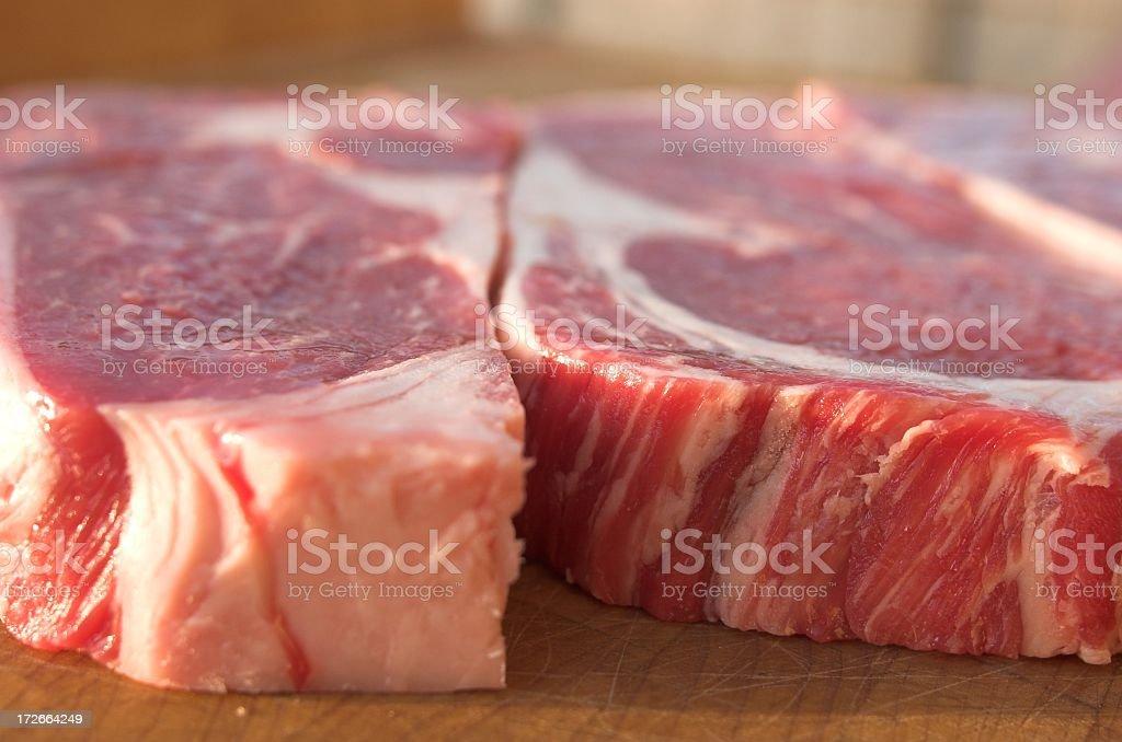 detail of steak royalty-free stock photo