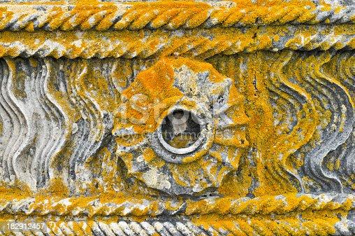 istock Detail of stone belt in Convento de Cristo,Tomar,Portugal 182912457