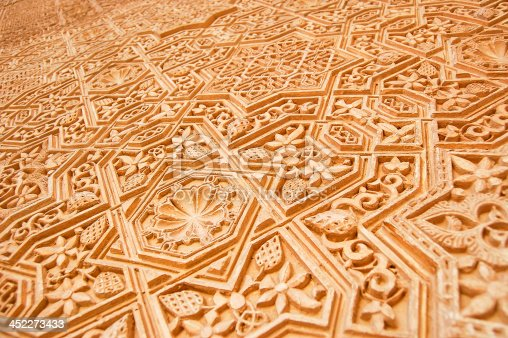 121178604istockphoto Detail of the Alhambra 452273433
