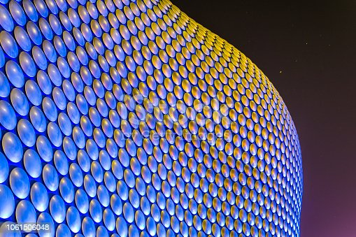 istock Detail of the bullring shopping mall in Birmingham, England 1061506048