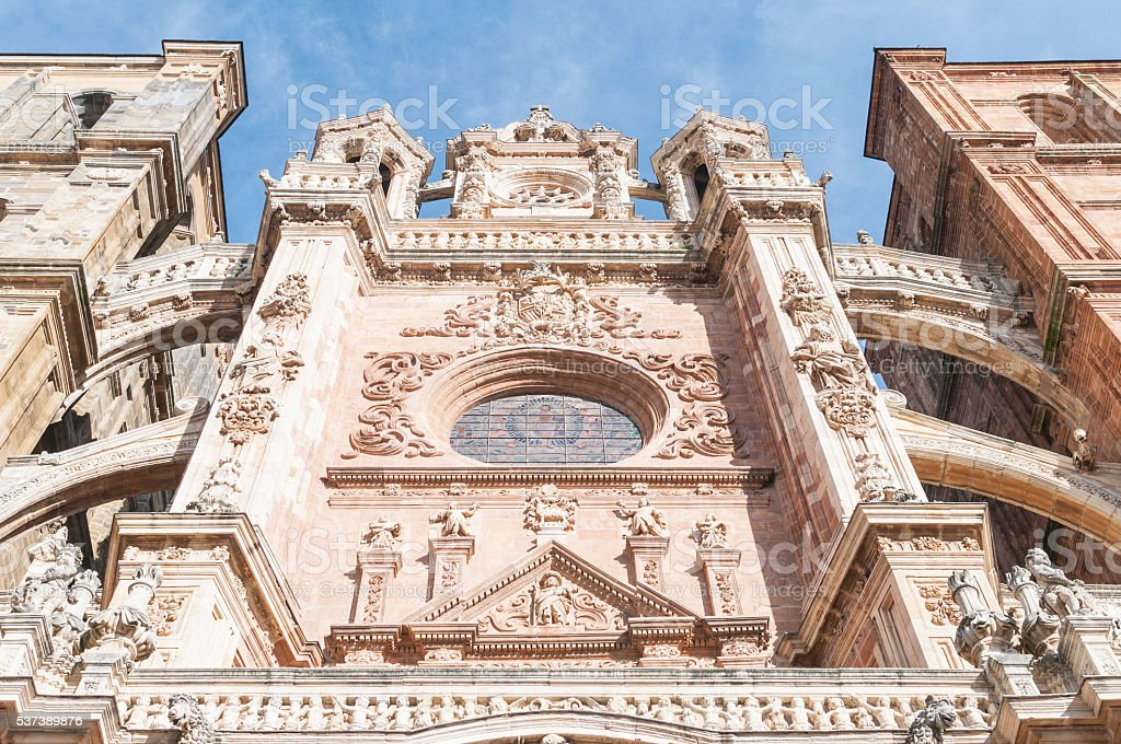 Detalle de la ciudad de Astorga - foto de stock