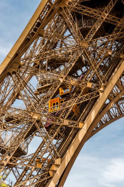 Detail des Eiffelturms in Paris, Frankreich – Foto