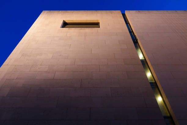 Detail of the Leopold museum stock photo