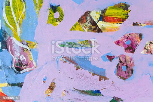623963530istockphoto Detail of the Painting as a Background 606668232