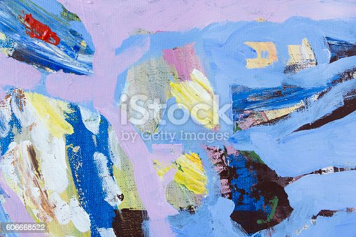 623963530istockphoto Detail of the Painting as a Background 606668522