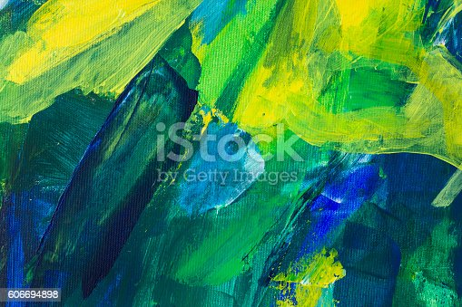 istock Detail of the Painting as a Background 606694898
