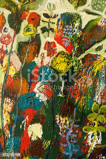 623963530 istock photo Detail of the Painting as a Background 623762108