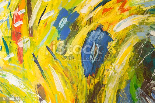 623963530istockphoto Detail of the Painting as a Background 624158188