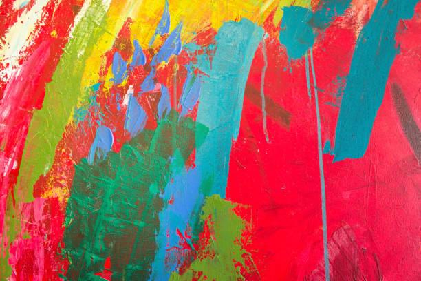 Detalle de la pintura como fondo - foto de stock