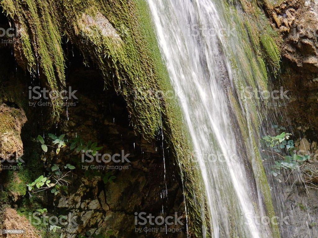 Particolare della cascata royalty-free stock photo