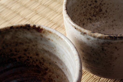 Detail of two teacups