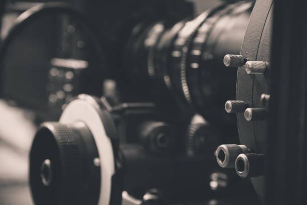 detail of Video camera - foto stock