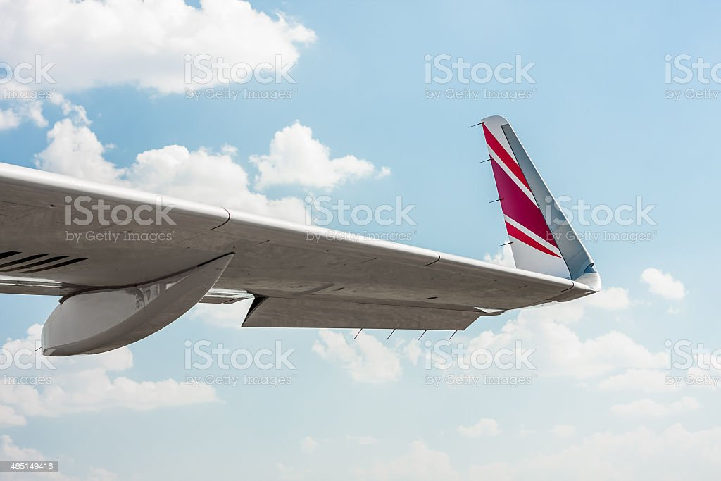 Detail of winglet stock photo