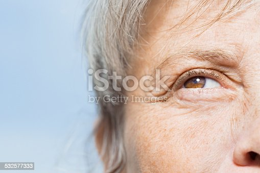 istock Detail of woman's face 532577333