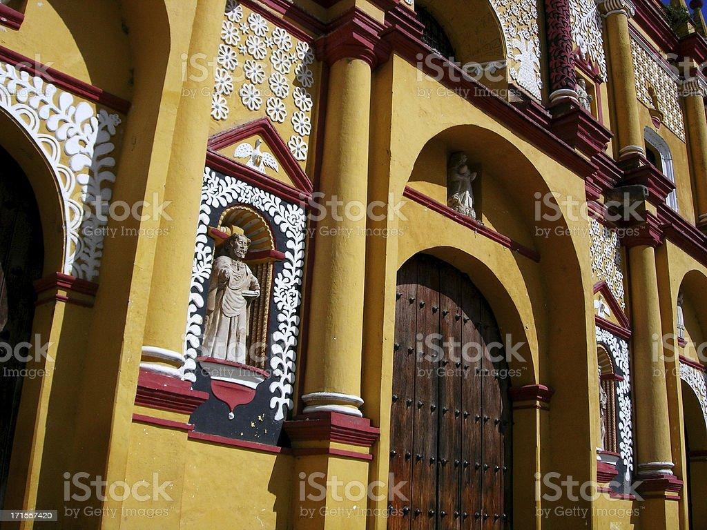 Detail on Church royalty-free stock photo