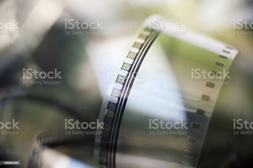Detail on Cinema Reel stock photo